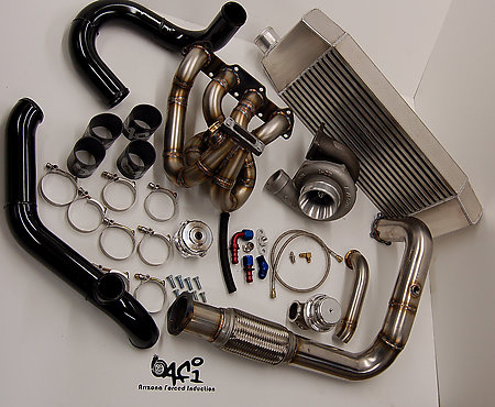 AFI Top Mount Turbo Race Kit Acura Integra D/B Series 86-01