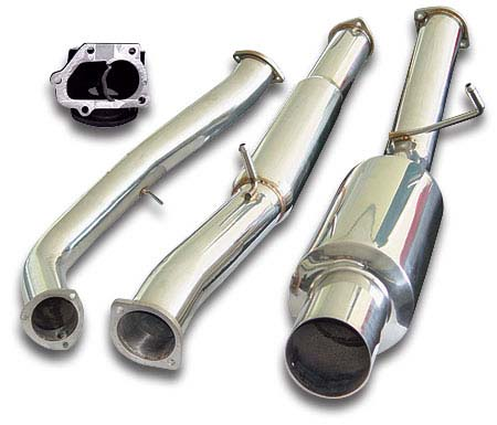 APS 3.5 inch Single Tip Turboback Exhaust Subaru WRX/STI