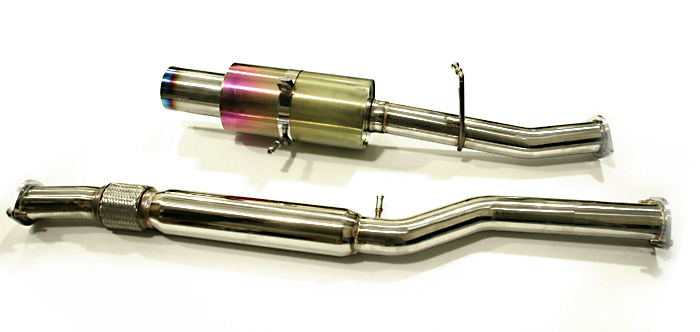 Agency Power TurboBack Exhaust System Subaru WRX STI 02-07