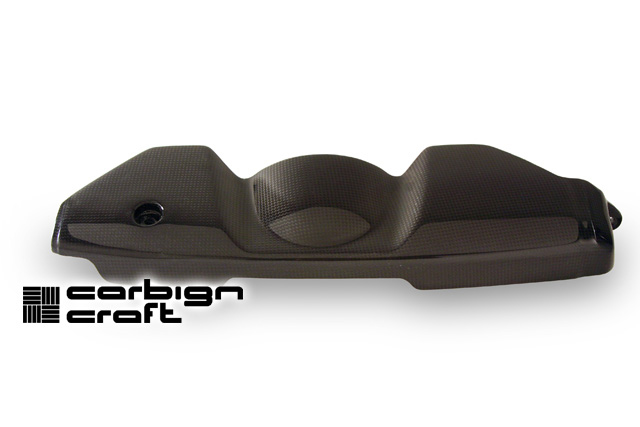 Carbign Craft Carbon Fiber Alternator Cover Subaru WRX 02-07