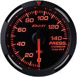 Defi Red Racer 52mm Pressure Gauge