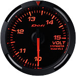 Defi Red Racer 52mm Volt Gauge