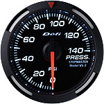 Defi White Racer 52mm Pressure Gauge