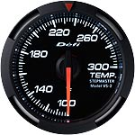 Defi White Racer 52mm Temperature Gauge