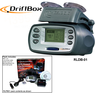 Drift Box GPS Data Acquistion Meter