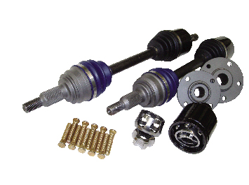 Driveshaft Shop Level 5.9 Axle and Hub Kit 1000HP Acura Integra - Click Image to Close