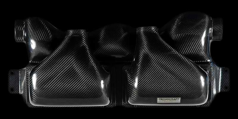 Tecnocraft Dry Carbon Fiber Cold Air Intake Lamborghini Gallardo