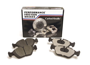 Performance Friction Front Carbon Metallic Track Brake Pads STI