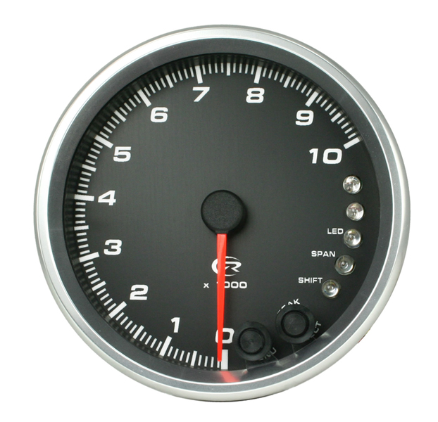 Revolution 4.5 Inch Shift Light Tachometer 8,000 RPM with Memory
