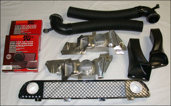 Active Autowerke Cold Air Intake Brake Duct Kit Bmw E39 M5 99