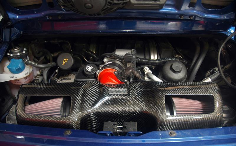 Agency Power Full Cold Air Intake with Carbon Box Porsche 997.2
