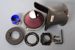Gruppe M Ram Air Intake System Ferrari F430 Coupe 04+