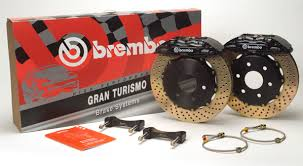 Brembo GT 12.9 Inch 4 Piston 2pc Front Brake Kit Acura CL 01-03