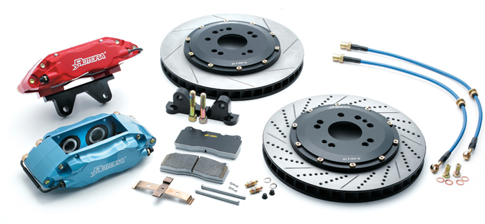 Rotora Rear 2pc 13in Brake Kit 2pot Mitsubishi Eclipse 06+