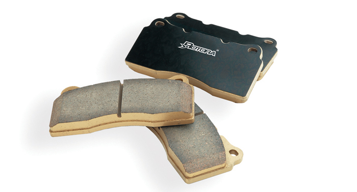Rotora Rear H2 Ceramic Brake Pads Subaru WRX 03-05