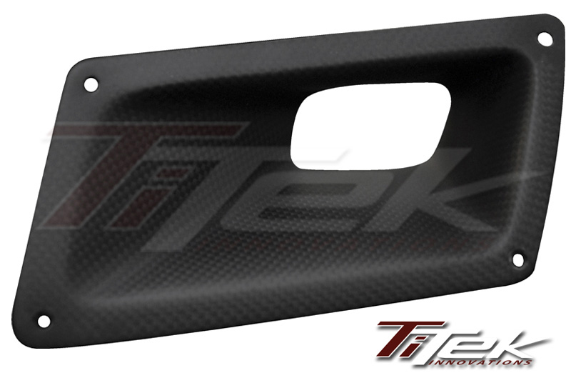 Titek Gloss Carbon Fiber Air Duct Nissan 350Z 03-08